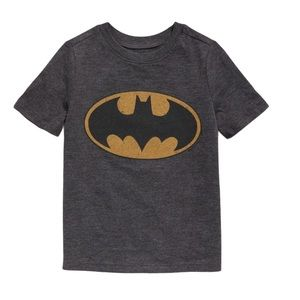 OLD NAVY BATMAN DC Tee/Top Grey Boys Size 2T